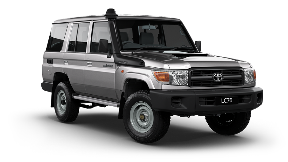 toyota landcruiser 70 series 76 series 4 5ltr v8 wagon 2017 dpf equipped. Black Bedroom Furniture Sets. Home Design Ideas