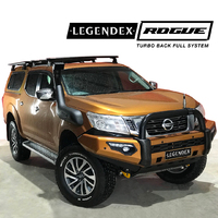 Legendex ROGUE Exhaust - Nissan Navara NP300 FULL SYSTEM