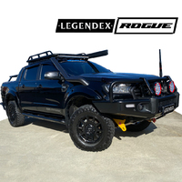 Legendex ROGUE Exhaust - Ford Ranger - DPF Back Side Shot