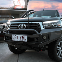 Toyota Hilux 2.8L N80  Bull Bar Single hoop 2015 to 2020