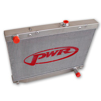 PWR ALUMINIUM RADIATOR, HDJ100 / HZJ105 SERIES 1998-2002, SUIT AUTO, 55MM CORE (430MM TALL CORE)